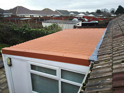 Lightweight Metal Roof Tiles For Lean Too