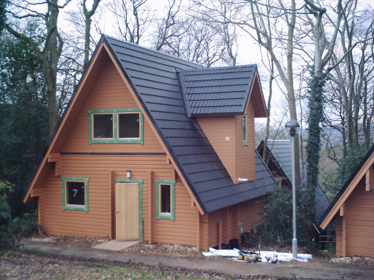 Lightweight Metal Roof Tiles For Log Cabins