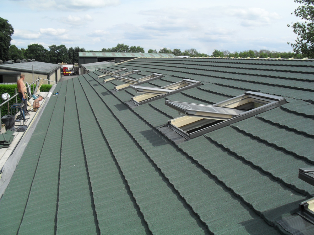 Britmet Low Pitch Roof Tiles